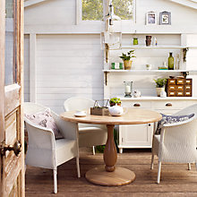 Buy John Lewis Burbank Dining Table and Lloyd Loom Dining Chairs Range Online at johnlewis.com