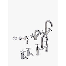 Buy John Lewis Arun Bathroom Taps Range   Online at johnlewis.com
