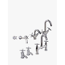 John Lewis Arun Bathroom Taps Range