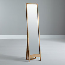 Buy House by John Lewis Maine Freestanding Mirror, Ash Online at johnlewis.com