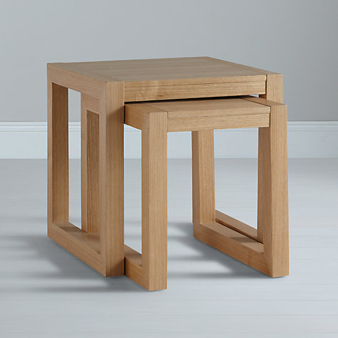Buy John Lewis Logan Nest of 2 Tables Online at johnlewis.com