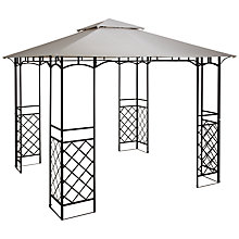 Buy John Lewis Gazebo, Grey Online at johnlewis.com