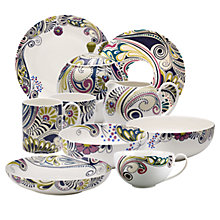 Buy Denby Monsoon Cosmic Tea Saucer Online at johnlewis.com