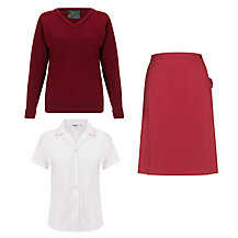 The Red Maids' School Senior Girl's Years 7 - 11 Uniform