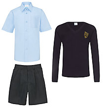 St John's Priory Boys' Years 1 - 6 Summer Uniform