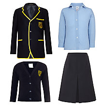 St John's Priory Girls' Years 1 - 6 Winter Uniform