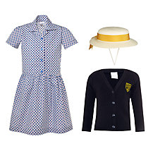 St John's Priory Girls' Years 1 - 6 Summer Uniform