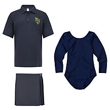St John's Priory Girls' Years 1 - 6 Sports Uniform