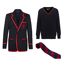 Alpha Preparatory School Boys' Year 3 - Year 6 Winter Uniform