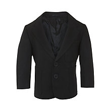 Buy John Lewis Boys' Blazer, Black Online at johnlewis.com