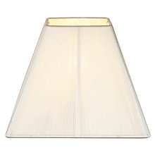 Buy John Lewis Vienna Tapered Square Shade Online at johnlewis.com