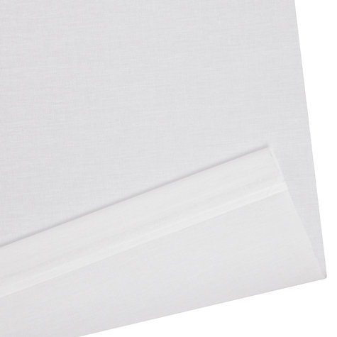 Buy John Lewis Sheer Roller Blinds, White Online at johnlewis.com