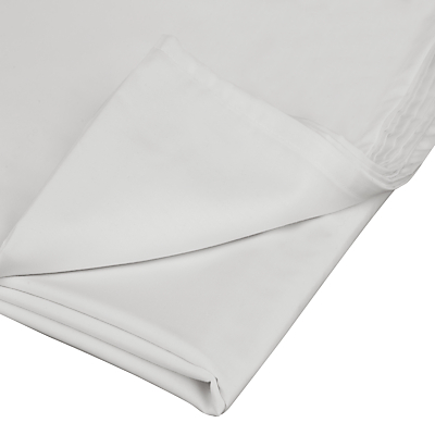 John Lewis 400 Thread Count Cotton Satin Flat Sheet