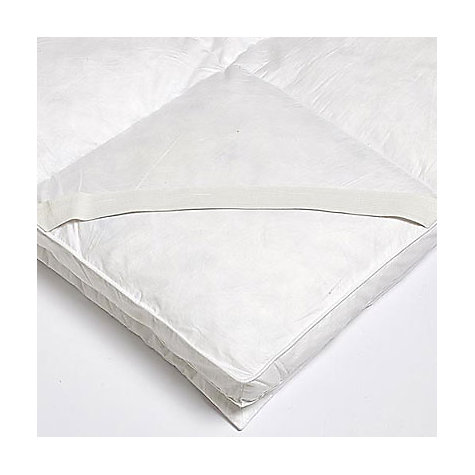 Buy Goose Feather And Down Dual Layer Mattress Toppers Online at johnlewis.com