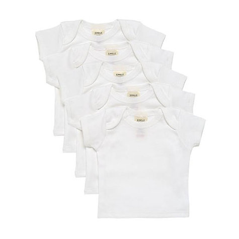 Buy John Lewis Baby Vests, Pack of 5 Online at johnlewis.com