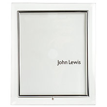Buy Flat Glass Photo Frame, Portrait Online at johnlewis.com