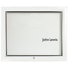 "Buy Flat Glass Photo Frame, Landscape, 6 x 8"" (10 x 15cm) Online at johnlewis.com"