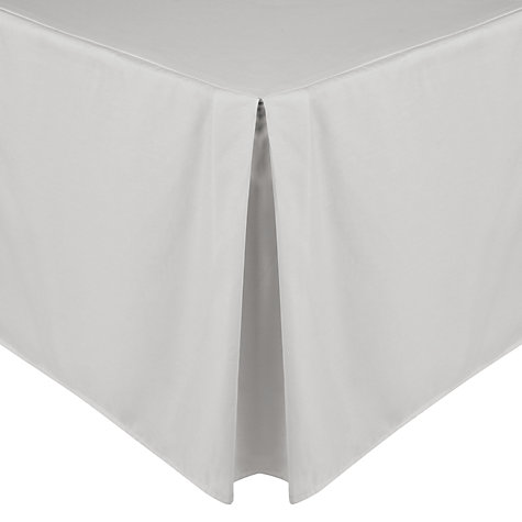 Buy John Lewis Easycare Polycotton Centre Pleat Valances Online at johnlewis.com