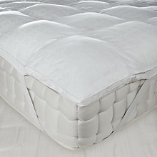 Buy John Lewis New Cluster Fibre Mattress Topper Online at johnlewis.com
