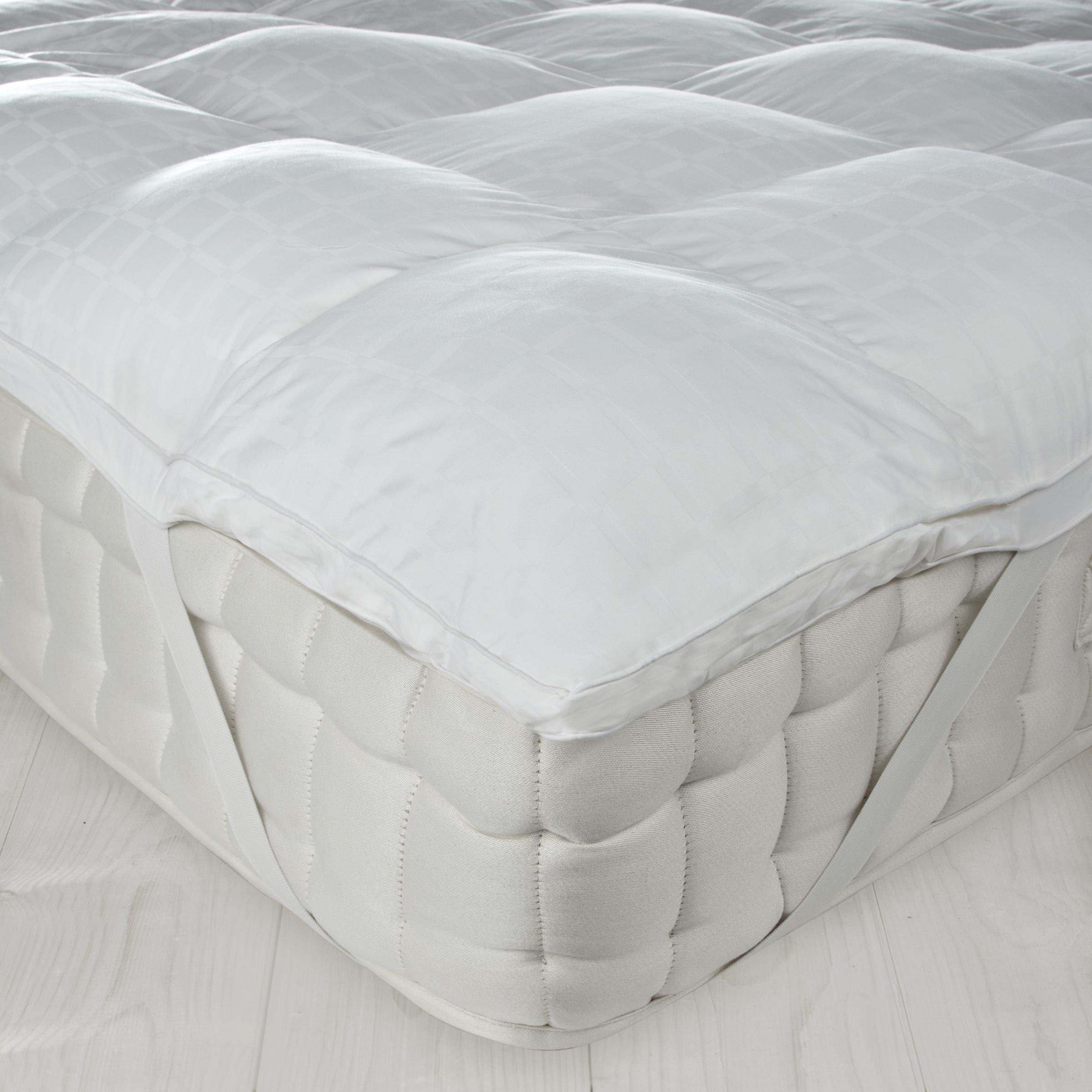 John Lewis New Cluster Fibre Mattress Topper
