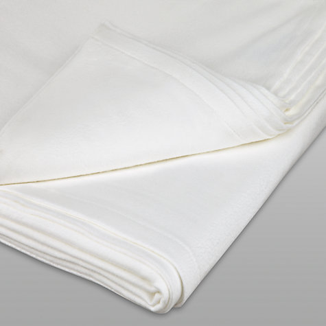 Buy John Lewis Flannelette Flat Sheets Online at johnlewis.com