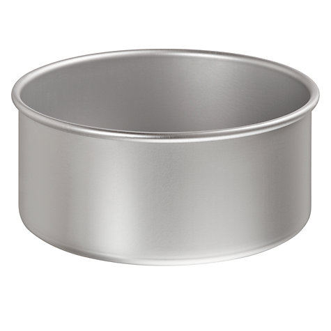 Buy John Lewis Satin Hard Anodised Round Cake Tins Online at johnlewis.com