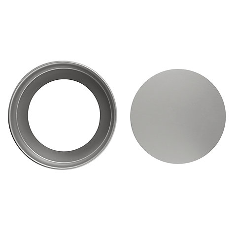 Buy John Lewis Satin Anodised Round Cake Tins Online at johnlewis.com