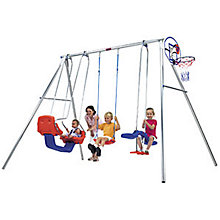 Buy TP Toys Triple Giant Swing Set Online at johnlewis.com