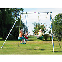 Buy TP Toys Double Giant Swing Set Online at johnlewis.com