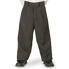 Buy John Lewis Boys' Trousers, Grey Online at johnlewis.com