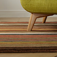 Buy John Lewis Multi Stripe Runner, Bold, L240 x W70cm Online at johnlewis.com