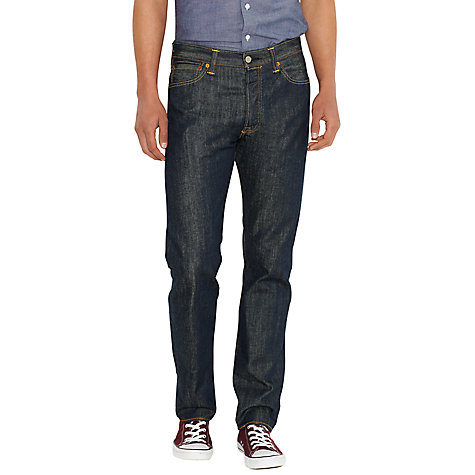 Buy Levi's 501 Original Straight Jeans, Marlon Online at johnlewis.com