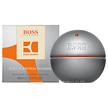 Buy HUGO BOSS BOSS in Motion Eau de Toilette Online at johnlewis.com