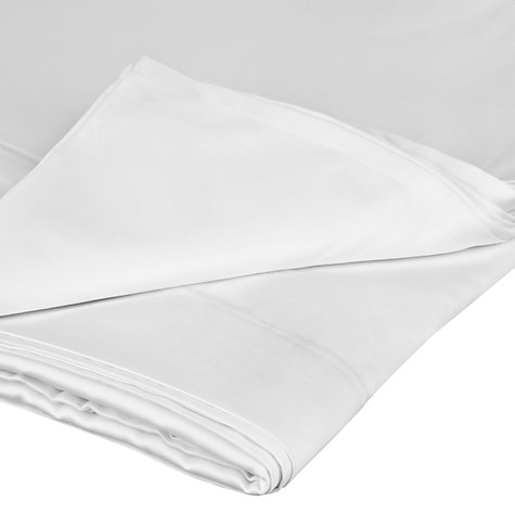 Buy John Lewis Sumptuous Pima Cotton Flat Sheets Online at johnlewis.com