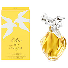 Buy Nina Ricci L' Air du Temps Eau de Toilette Spray Online at johnlewis.com