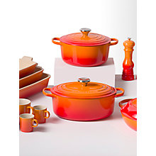 Buy Le Creuset Cookware, Volcanic Online at johnlewis.com