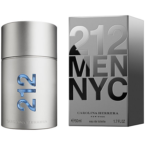 Buy Carolina Herrera 212 Men Eau de Toilette Online at johnlewis.com