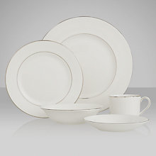 Buy Vera Wang for Wedgwood Blanc sur Blanc Tableware Online at johnlewis.com