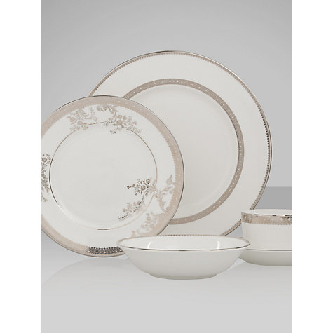 Buy Vera Wang for Wedgwood Lace Platinum Tableware Online at johnlewis.com