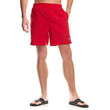 Buy Speedo Solid Leisure Shorts, China Red Online at johnlewis.com