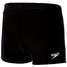 Buy Speedo Houston Aquashorts, Black Online at johnlewis.com