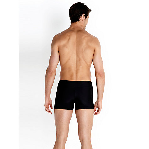 Buy Speedo Houston Aquashort Swim Shorts, Black Online at johnlewis.com
