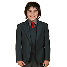 Buy John Lewis Boys' Blazer, Bottle Green Online at johnlewis.com