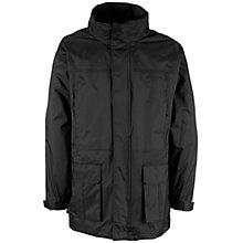 John Lewis Unisex Hooded 3-in-1 Jacket, Black