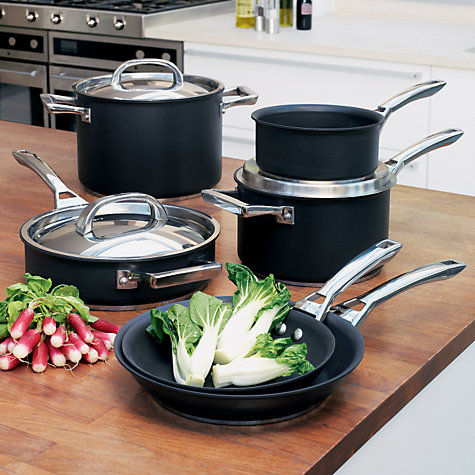 Buy Meyer Infinite Circulon Covered Saute Pan, 24cm Online at johnlewis.com
