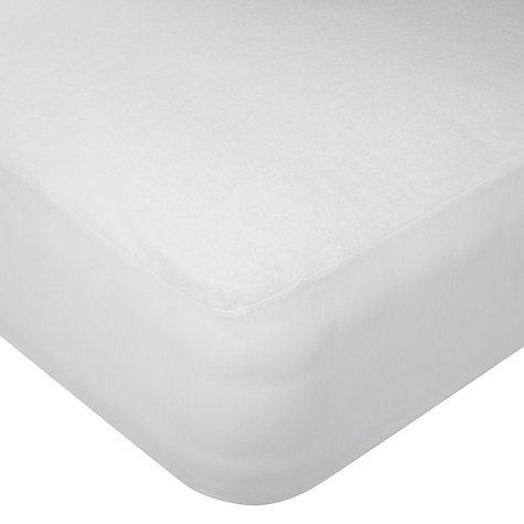 Buy John Lewis Waterproof Towelling Mattress Protectors Online at johnlewis.com