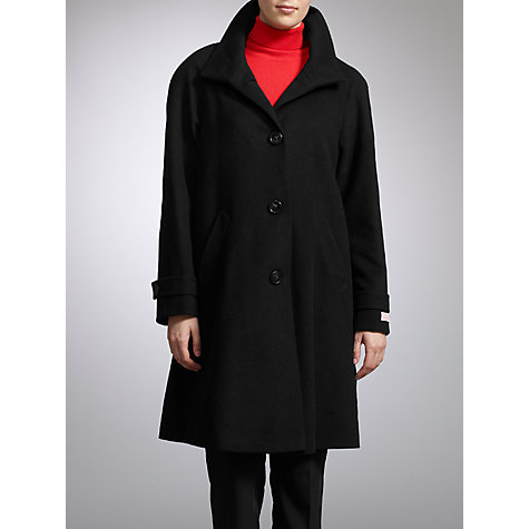 Buy John Lewis Swing Coat, Black Online at johnlewis.com