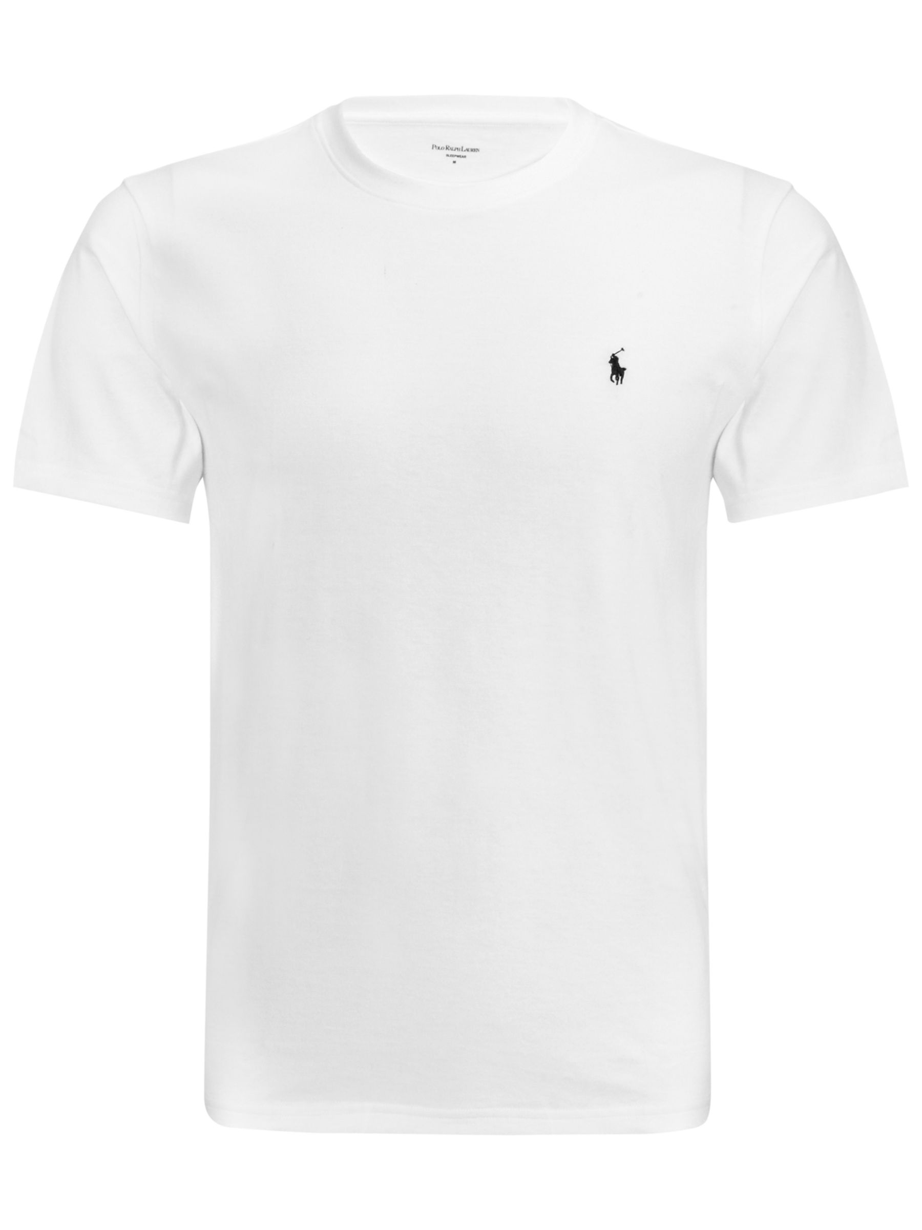 Polo Ralph Lauren Crew Neck Lounge T-Shirt, White