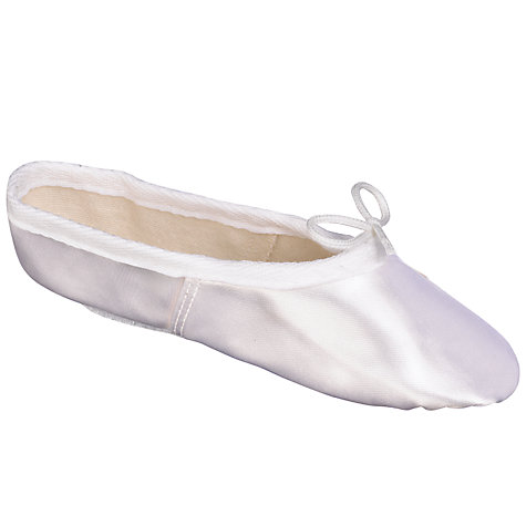 Buy John Lewis Girl Satin Ballet Shoes Online at johnlewis.com