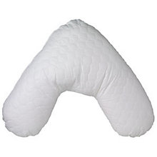 Buy John Lewis New Quilted V Shaped Pillow Online at johnlewis.com